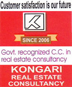Kongari Real Estate Consultancy (Since 2006) | SolapurMall.com
