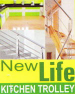 New Life Kitchen Trolley | SolapurMall.com