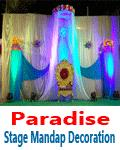 Paradise Stage Mandap Decoration