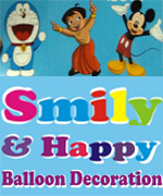 Smile & Happy Ballon Decoration | SolapurMall.com