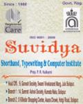 Suvidya (Shorthand,Typewriting & Computer Institute)