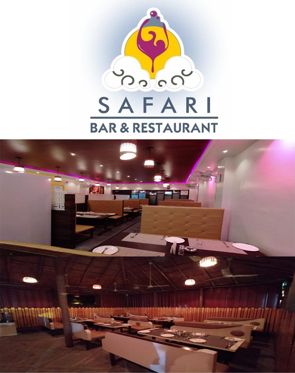 SAFARI <br>Bar & Restaurant