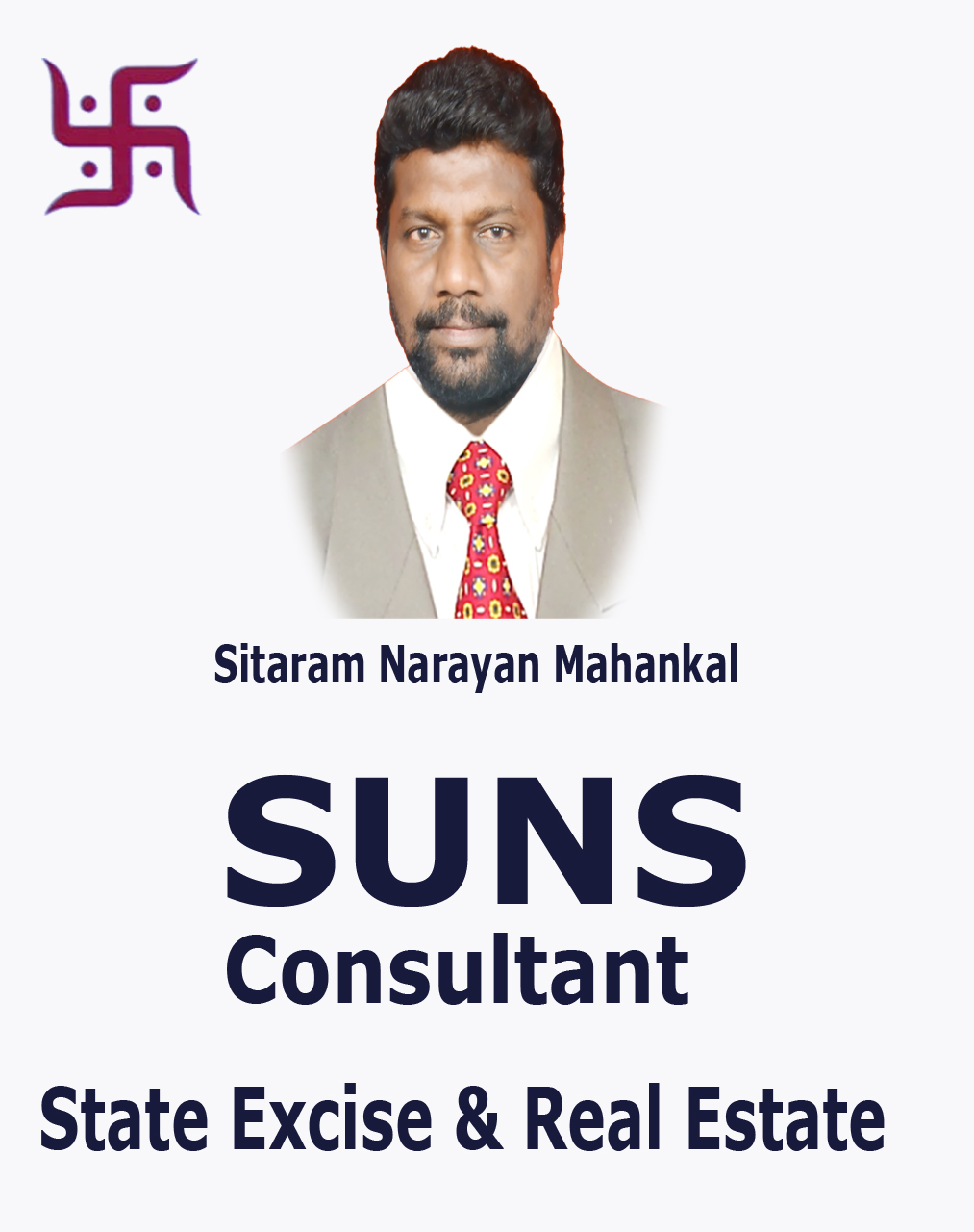 SUNS CONSULTANT<BR>STATE EXCISE & REAL ESTATE